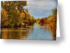 River Thames At Staines Greeting Card