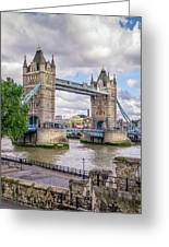 River Thames Greeting Card