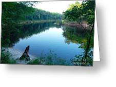 River Time Greeting Card