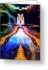 River To Eternity  Greeting Card