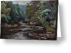 River Valley Visit Greeting Card