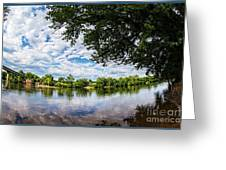River View At Cartersville 1878ta Greeting Card