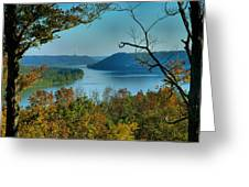 River View I Greeting Card