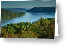 River View II Greeting Card by Steven Ainsworth