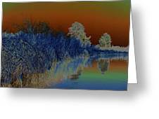 River View Serenity Greeting Card