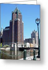 River Walk View Photo Greeting Card