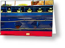 Riverboat Design 2 Greeting Card