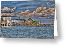 Riverboat On The Potomac Greeting Card