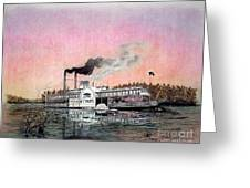 Riverboat Saint Paul Greeting Card