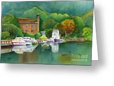 Riverboats Greeting Card