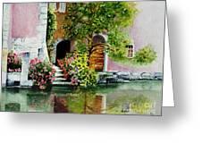 Riverfront Property Greeting Card