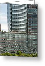 Riverhouse, One Rockefeller Park At 2 River Terrace In Battery Park City Greeting Card