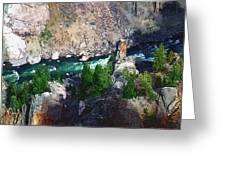 Riverrun Greeting Card
