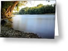 Rivers Edge 2 Greeting Card