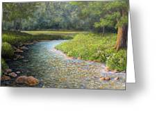Rivers End Greeting Card