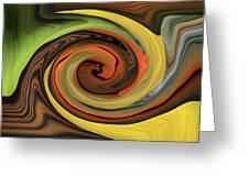Eye Of Nature Greeting Card