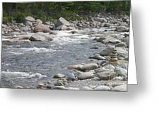 Rivers Of New Hampshire Greeting Card