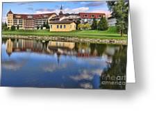 Riverside Hotel Greeting Card