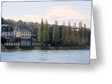 Riverside Idyll Greeting Card