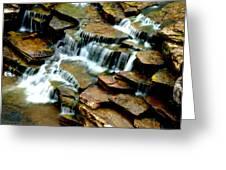 Riverside Place Falls  Greeting Card