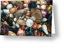 Riverstones I Greeting Card