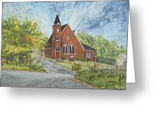 Riverton Church Greeting Card