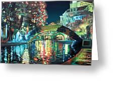 Riverwalk Greeting Card by Baron Dixon