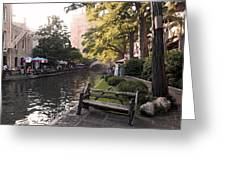 Riverwalk Iv Greeting Card