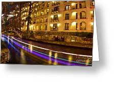 La Mansion Del Rio Riverwalk Christmas Greeting Card
