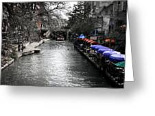 Riverwalk Greeting Card by Shane Rees