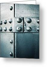 Riveted Pieces Of Iron Greeting Card