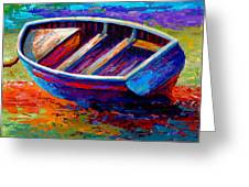 Riviera Boat IIi Greeting Card