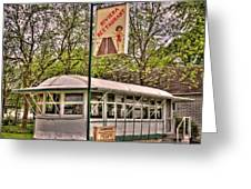 Riviera Roadhouse Restaurant Greeting Card