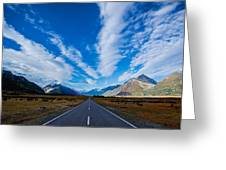 Road Greeting Card