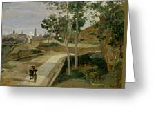 Road From Volterra Greeting Card