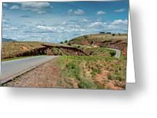 Road To Antananarivo Greeting Card