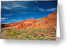 Road To Arches National Park Greeting Card