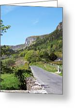 Road To Benbulben County Leitrim Ireland Greeting Card