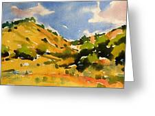 Road To Duck Creek Greeting Card