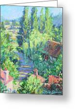 Road To Giverny Greeting Card
