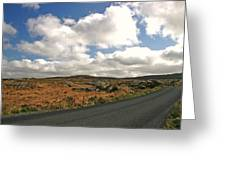 Road To Glenveagh National Park No 2 Greeting Card