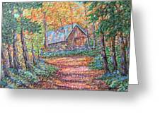 Road To Home Greeting Card