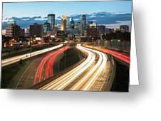 Road To Minneapolis Greeting Card