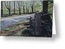 Road To Phillipsville Greeting Card