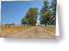 Road To Redemption Greeting Card