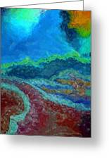 Road To The Storm Greeting Card
