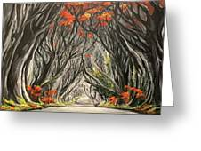 Road To The Throne Greeting Card