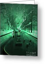 Road Trip Effects  Greeting Card by Cathy  Beharriell