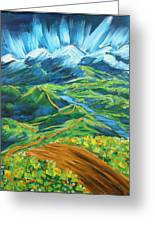Roads In The Wilderness Greeting Card