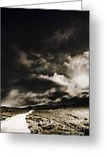 Roads Of Atmosphere  Greeting Card
